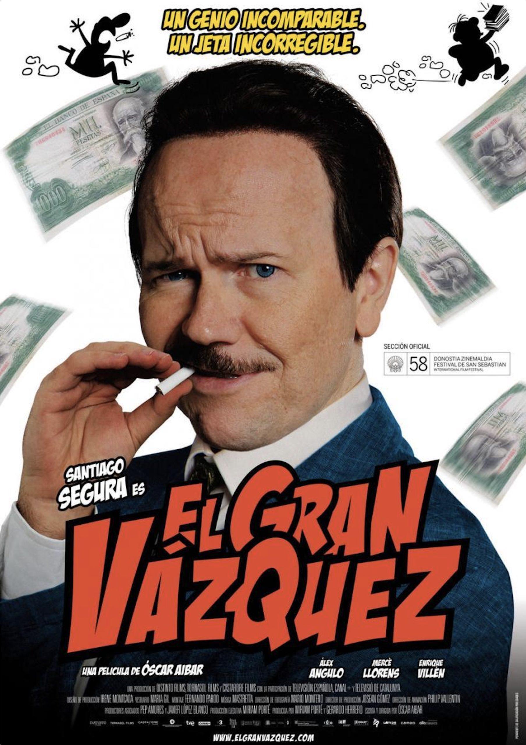 El Gran Vazquez - Cartel - BSO - Mastretta