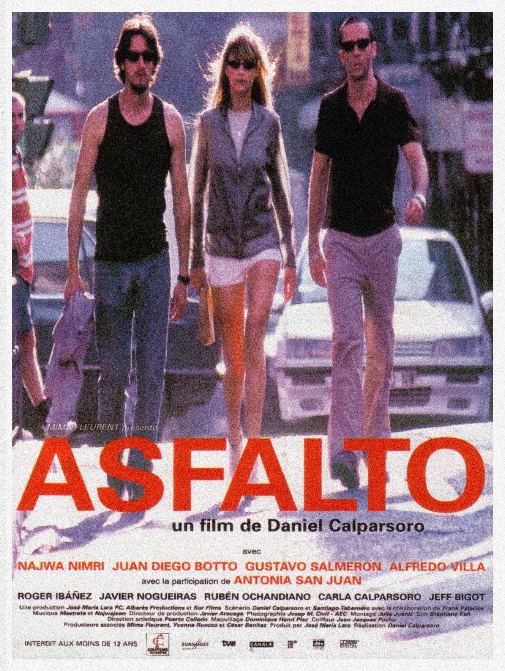 Asfalto - Daniel Calparsoro - Cartel - (BSO) - Mastretta
